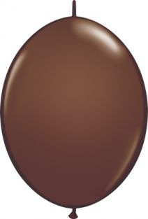 "12"" QLINK CHOCOLATE BROWN 50CT"