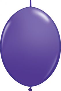 "12"" QLINK PURPLE VIOLET 50CT"
