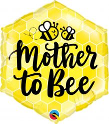 """20"""" HEXAGON MOTHER TO BE (PK)"""
