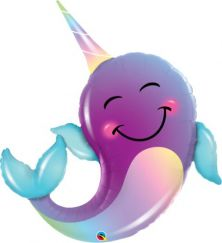 """40"""" SHAPE PARTY NARWHAL (PK)"""