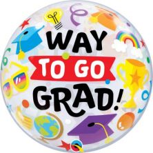 """22"""" WAY TO GO GRAD EVERYTHING (PK)"""