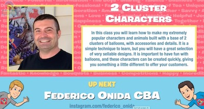 2 Cluster Characters  with Federico Onida, CBA