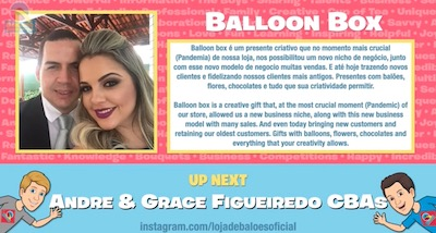 Balloon Box! with Andre and Grace Figueiredo, CBAs