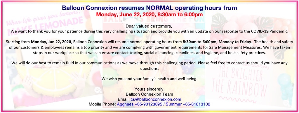 Normal operating hours